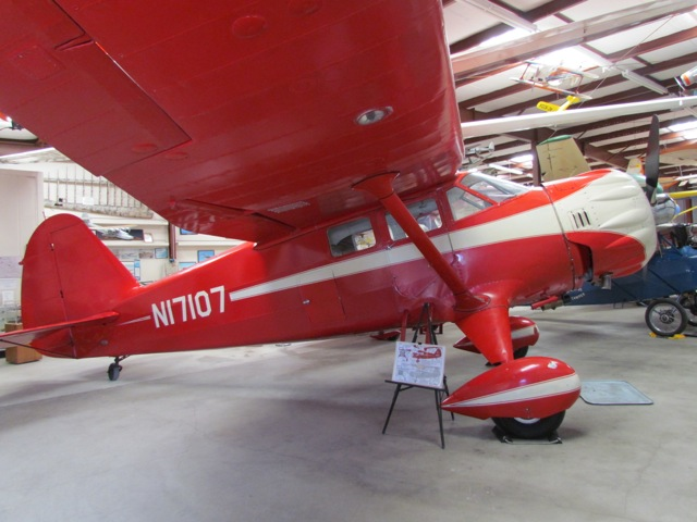 Stinson Reliant Sr 9 Wings Of History Air Museum