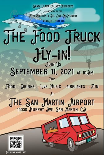 Food Truck Fly-in Poster